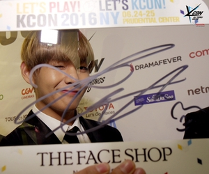 new york, kcon, and v image