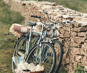 bike, countryside, and holidays image