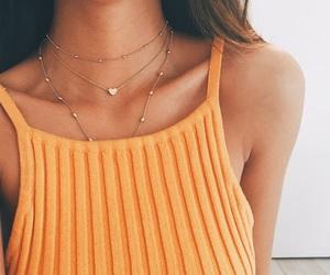 fashion, style, and orange image