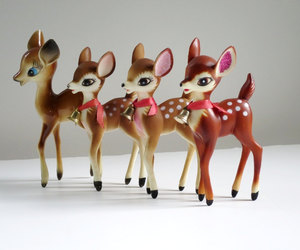 50s, deer, and etsy image