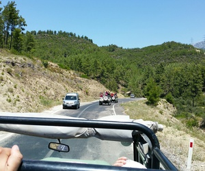 jeep, spass, and dann rafting image