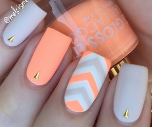 glamour, summer, and nail art image
