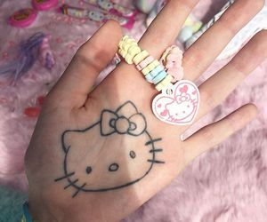 hello kitty, pastel, and icon image