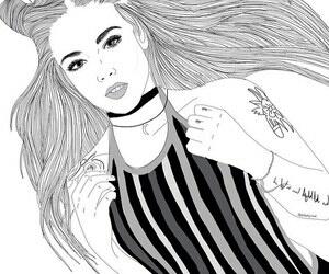 Art Cool Girl