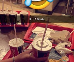 cola, KFC, and smiley image