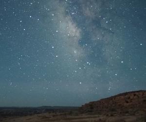 night and star image