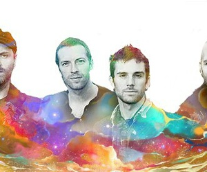 coldplay and double exposure image