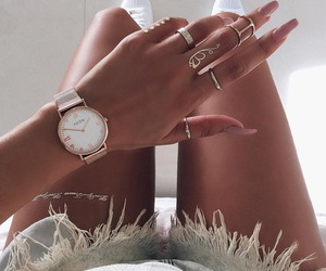 accessories, chic, and ring image