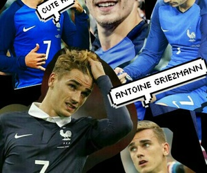 boy, football, and france image