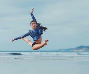 beach, dance, and dancer image