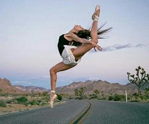 dance, flexibility, and gymnastics image