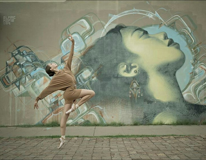 city, dance, and dancer image