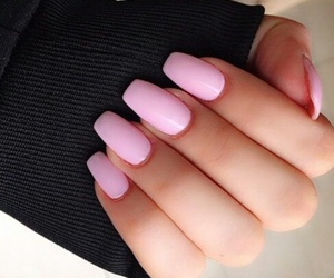 glamour, pink, and manicure image