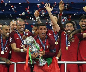 portugal, cristiano ronaldo, and euro2016 image
