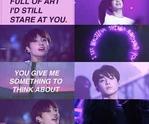 kpop and violet image