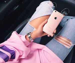 aesthetic, pastel, and pink theme image