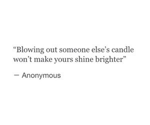 quotes, anonymous, and candle image