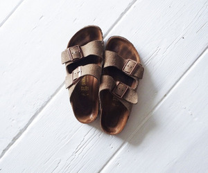 shoes, birkenstock, and style image