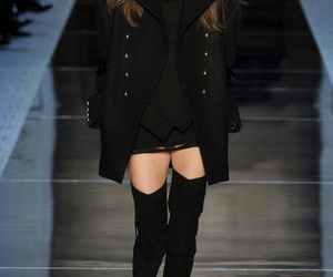 alexandre vauthier, model, and runway image