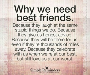 best friends, quotes, and friends image
