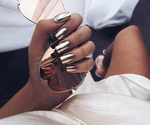 nails, sunglasses, and chic image