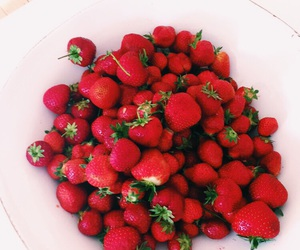 food, healthy, and red image