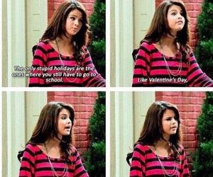 selena gomez, alex russo, and funny image