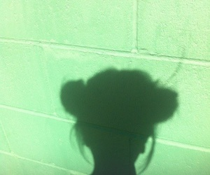 green, aesthetic, and shadow image