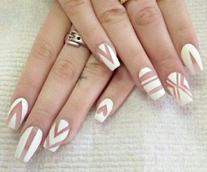 nails, white, and art image