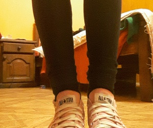 converse, home, and pink image