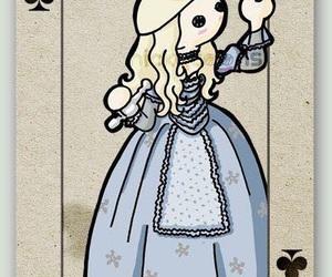 alice in wonderland and Queen image