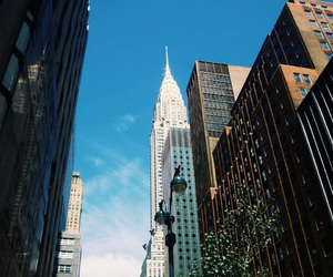 city, empire state, and empire state building image