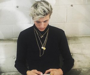 beautiful, next model, and lucky blue image
