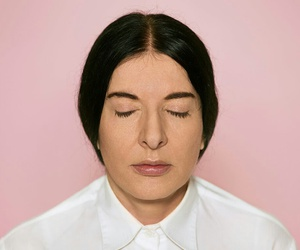 artist, god, and MARINA ABRAMOVIC image