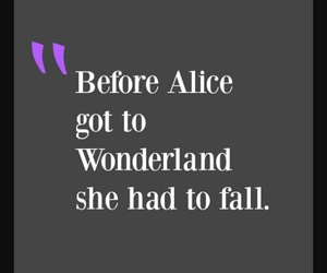 alice, fall, and give up image