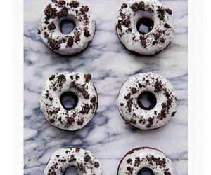 food, oreo, and donuts image