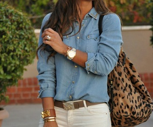 animal print, brown, and outfit image