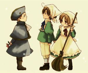 hetalia, holy roman empire, and romano image