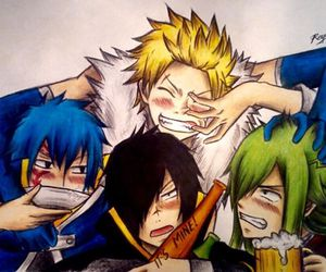 fairy tail, sting, and jellal fernandes image