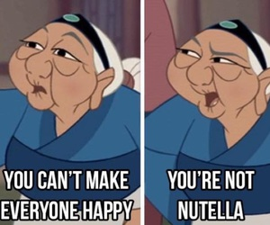 disney, nutella, and funny image