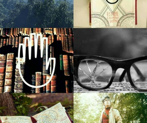 aesthetic, forest, and glasses image