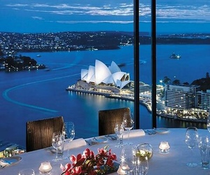 Sydney, australia, and dinner image