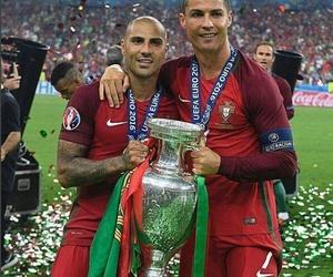 portugal, cristiano ronaldo, and champions image