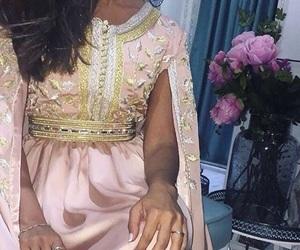 dress, morocco, and caftan image