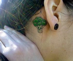 tattoo and vegan image