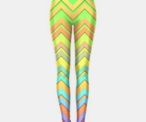gradient, for her, and leggings image