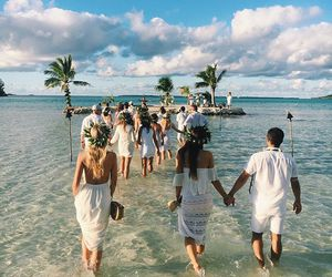 wedding and bridesmaids image