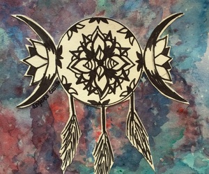art, dream catcher, and dreams image