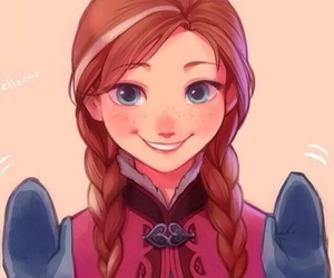 anna, princess anna, and disney image