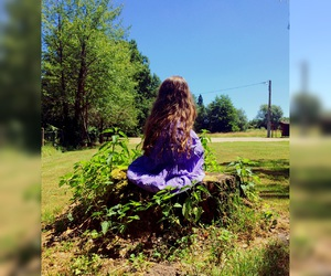 herbe, dress, and little girl image